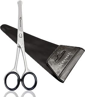 قیچی سر گرد Ruvanti : ایمن برای کودکان و نوزادان، ساخته شده از استیل استنلس،  مناسب برای کوتاه کردن ناخن کودکان،موی سر ، صورت، ریش و سیبیل .