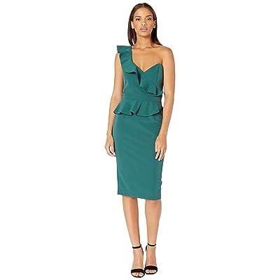Bardot Camelia Dress (Evergreen) Women