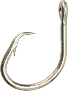Mustad Classic 2 Extra Strong in Line Point Duratin Circle Fishing Hook | Strong for Heavy Tuna | Fewer Deep Hooks For Cat...