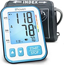 iProven Home Blood Pressure Monitor – Digital Blood Pressure Meter with Upper Arm..