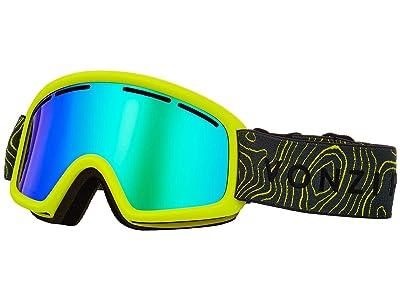 VonZipper Trike Goggle (Green Satin/Wild Quasar Chrome) Goggles