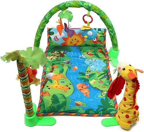 Rainforest Spielmatte für Babys, mit Musik und Schmetterlingen, Spielzeug, Spielzeug, Spielmatte