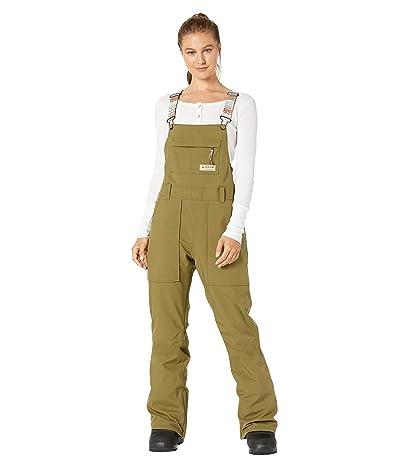 Burton Avalon Bib Pants (Martini Olive) Women