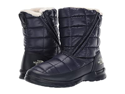 The North Face Thermoball Microbaffle Bootie Zip (Urban Navy/Bone White) Women