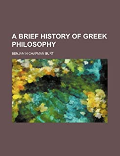 A Brief History of Greek Philosophy