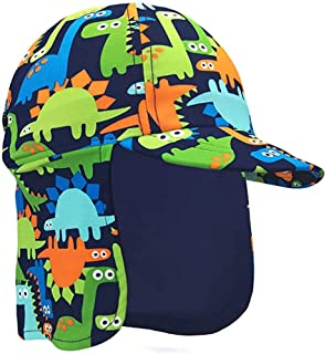 Baby Toddler Boys Dinosaur Swim Hat Water Hat UPF 50 +...