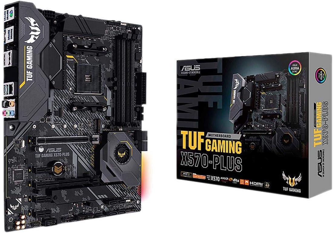 Asus Am4 Tuf Gaming X570 Plus Atx Motherboard Mit Pcie Computer Zubehör