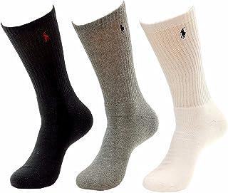 Polo Ralph Lauren Men's Big & Tall Classic Sport 3-Pairs Socks Sz: XL Fits 13-16