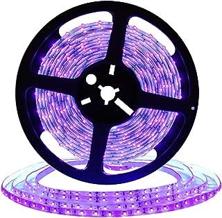 DeepDream UV Black Light Led Strip 32.8Ft/10M Flexible Waterproof IP65 with 12V Power Supply