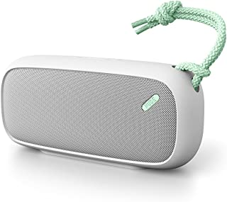 Bluetooth 4.0 Speaker Stereo Bass Subwoofer Support TF Card USB AUX FM Radio Mic Hands-Free Green Alinory Bluetooth Speaker