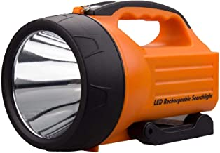 10 Watt 1000 Lumens LED Rechargeable Spotlight, Super Bright Portable Outdoor Searchlight with Handle, Emergency Work Ligh...