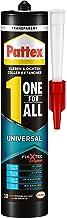 Pattex One for All Universele montagelijm & voegenafdichtmassa voor binnen en buiten, sterke lijm met temperatuur-, uv-, w...