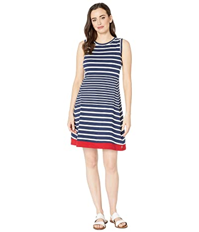 Hatley Sarah Dress (Solstice Stripes Blue) Women