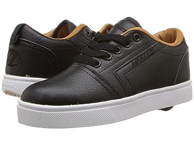 Heelys GR8 Pro (Little Kid/Big Kid/Adult) (Black/Cashew) Boys Shoes