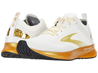 Brooks Levitate 4 (White/Gold) Women
