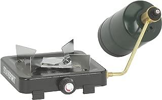 Stansport Single Burner 5,500 BTU Propane Stove, Black