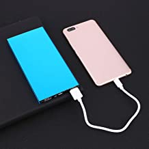 TelDen Ultra-Thin 20000mAh Portable External Battery Charger Power Bank USB Power Bank for Smart Cell Phone