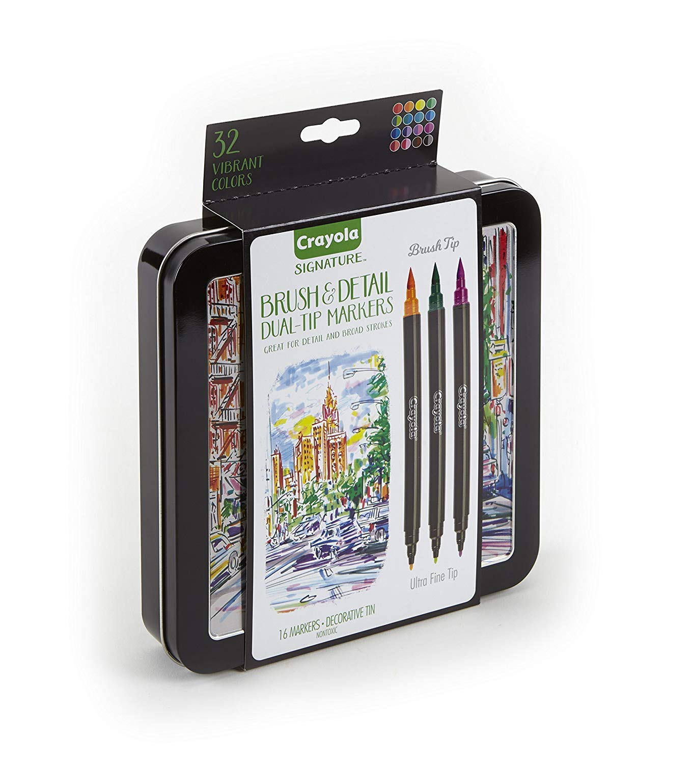 Crayola Markers Dual Tip Marker 16Count