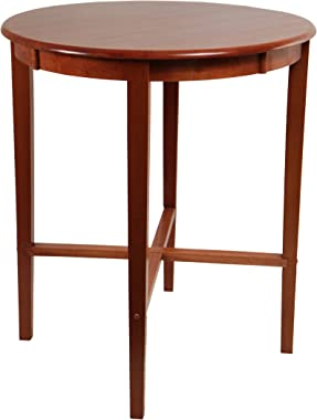 Boraam Round Pub Table, 42-Inch, Cherry