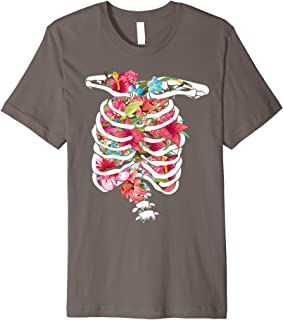 Skeleton Full Of Flowers Shirt | Cute Sugar Flowers Tee Gift