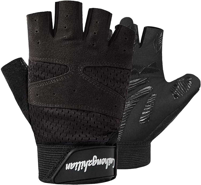 Sport Houston Mall gloves Men's Super sale and Women's Mitten Weightlifting Sports Non