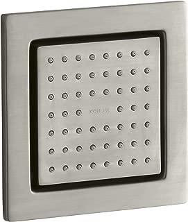 KOHLER K-8002-BN WaterTile Square Body Spray, Vibrant Brushed Nickel