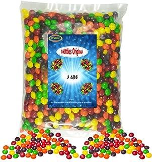 3 pound bag of skittles