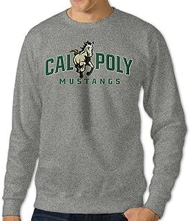 Mooy Men's Design Cal Poly Cartoon Sweater Ash