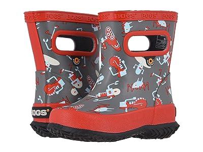 Bogs Kids Skipper Robots (Toddler/Little Kid) (Gray Multi) Kids Shoes