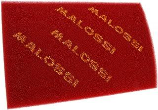 Malossi - Filtro dell'aria universale, in gommapiuma, doppio, misura: 200 x 300 mm, colore rosso