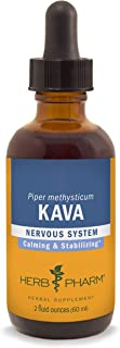 Herb Pharm Kava Root Liquid Extract to Reduce Stress and Promote Relaxation - 2 Ounce