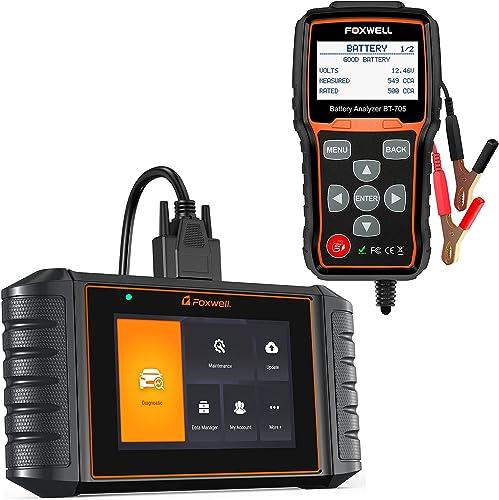 high quality FOXWELL BT705 12V 24V Car Battery Tester NT716 sale OBD2 Scanner lowest ABS/SRS/Engine/Transmission Diagnoses online
