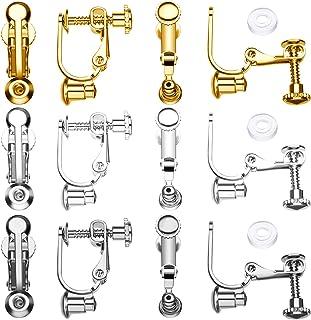 K2-Accessories Lot de 100 fermoirs de Boucles doreilles en Plastique Transparent