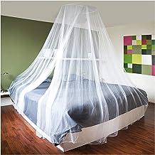 COM-FOUR® Insectenbescherming met bevestigingsmateriaal, klamboe voor tweepersoonsbed, eenpersoonsbed - klamboe als insect...