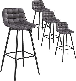 amazon fr chaise de bar 4 pieds