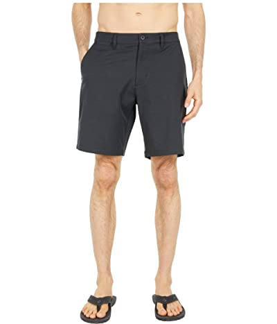 RVCA Back in Hybrid Shorts (Black) Men
