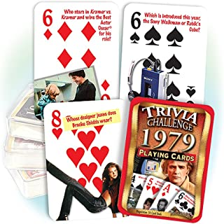Flickback 1979 Trivia Playing Cards