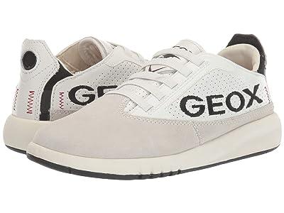 Geox Kids Aeranter D 1 (Big Kid) (Grey/White) Boy