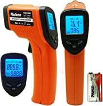 Nubee Temperature Gun Non-contact Infrared Thermometer MAX Display & EMS Adjustable