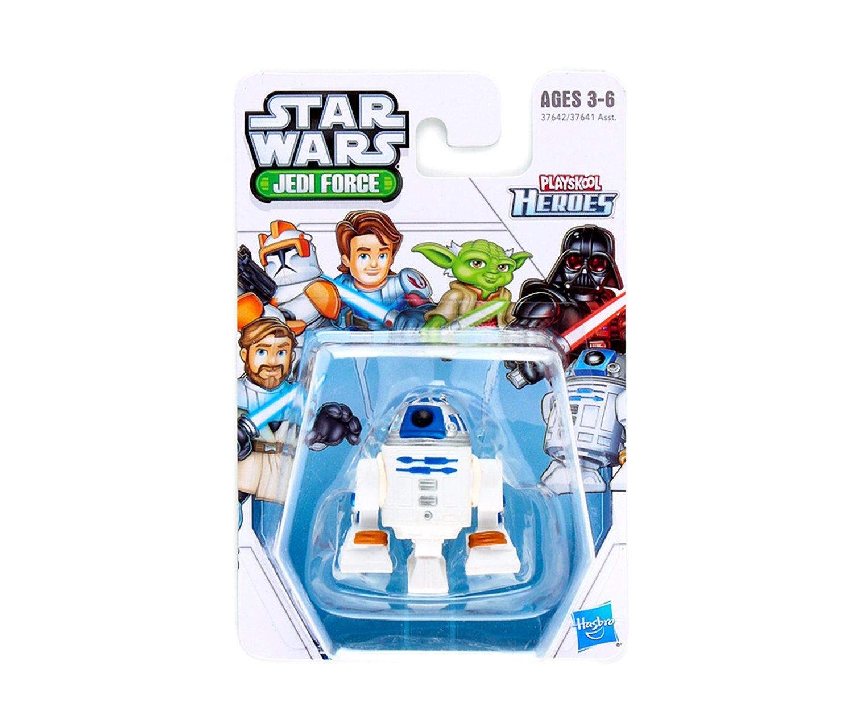 Playskool Heroes Star Wars Jedi Force Bundle Complete Set of 6 Darth Vader /& Obi-Wan Kenobi Anakin Skywalker including: Clone Commander Cody R2-D2 Yoda