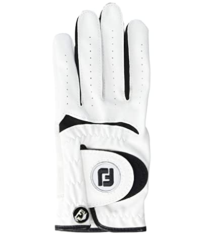 FootJoy Junior Left Hand Golf Gloves (Little Kids/Big Kids) (White) Cycling Gloves