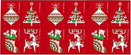 Holiday Delights Christmas Stamp Booklet of 20 Stamps x 55 Cents per Stamp