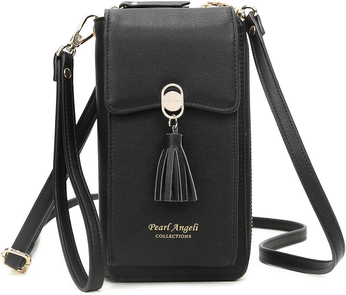 Crossbody Phone Bag Wallet RFID Handbag Womens Max 47% OFF Small Zipp Direct store
