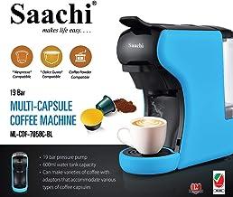Saachi Coffee Pod/Capsule Coffee Machine, Blue, NL-COF-7058-BL