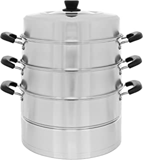 Best large stainless steel steamer Reviews