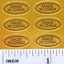 Best small made in china labels Reviews