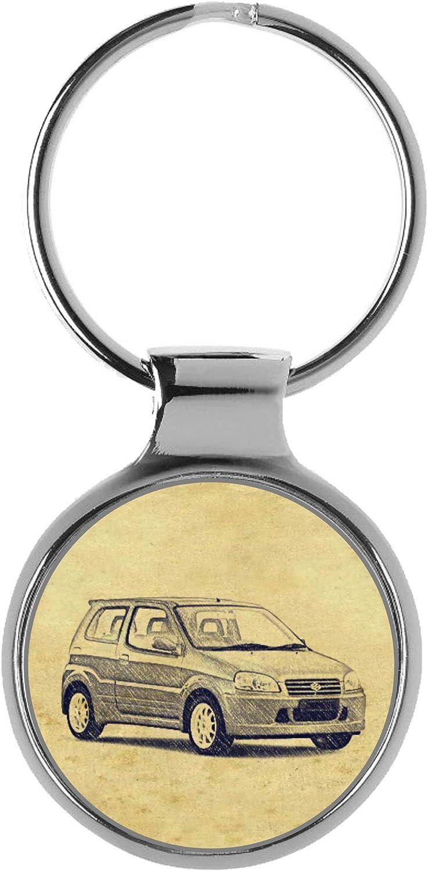 KIESENBERG Key New products, world's highest quality popular! Chain Ring sale Keyring Gift Fa for Suzuki Ignis Sport
