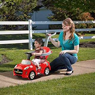Red Ride-on Push Car Games Riding Toys Push & Pedal Riding Vehicles Hobbies Electronic Wind-Up Battery Operated Toys & Accessories Outdoor & Structures Ride-Ons Hobby Outdoors, Abroad Home Toy