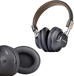 Avantree Audition Pro & Earpads, 40 hr Bluetooth Over Ear Headset with Microphone for Home Office, Conference Call, APTX L...