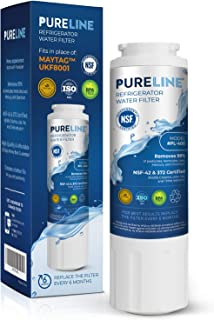 PURELINE UKF8001 Water Filter. Compatible Filter for Maytag (Whirlpool) UKF8001, UKF8001AXX-750, UKF8001AXX-200, EveryDrop Filter 4, EDR4RXD1, PUR 4396395, Jenn Air, Puriclean II